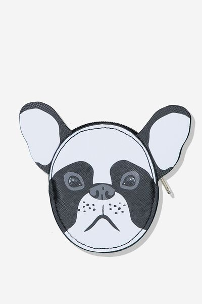 Novelty Coin Purse, FRENCHIE