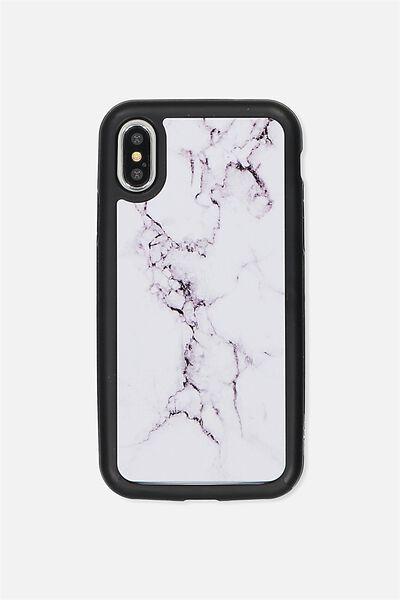 Superior Iphone Case X, WHITE MARBLE