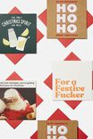 Christmas Card 20 Pack 2020, RUDE CHRISTMAS!!