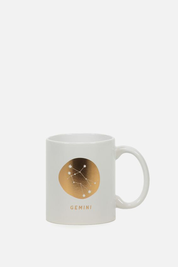 Zodiac Mug, GEMINI