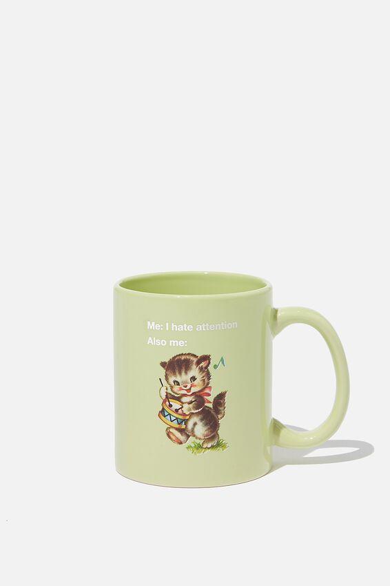 Anytime Mug, ATTENTION