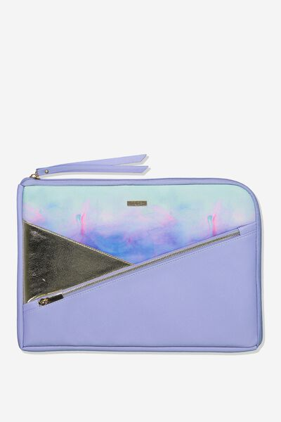 Premium Laptop Case 13 inch, PARADISE WATERCOLOUR