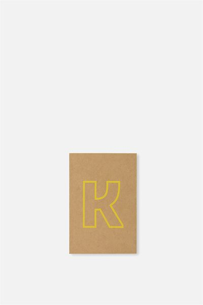 Initial Notebook Set, K - YELLOW