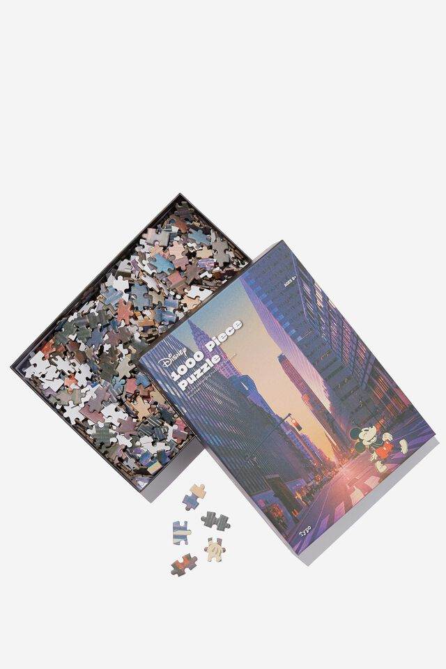 Disney 1000 Piece Puzzle, LCN DIS MICKEY NYC