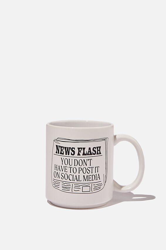 Daily Mug, NEWS FLASH AROUND ME