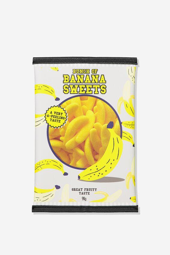 Snack Pencil Case, BANANA SWEETS