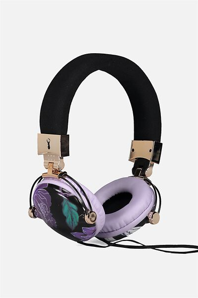Tune Out Headphones, LUSH FLORAL