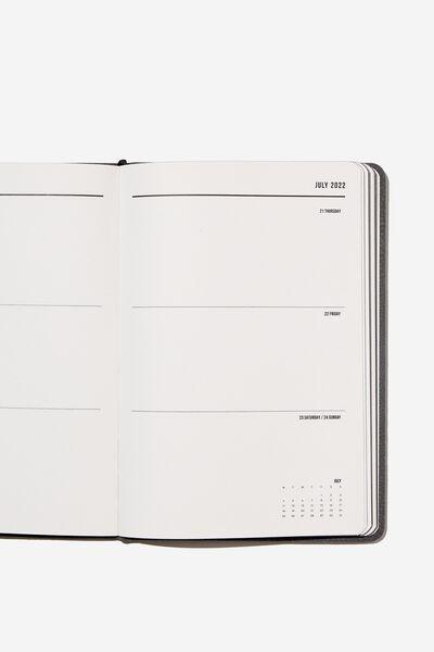 2022 A5 Weekly Buffalo Diary, WELSH SLATE