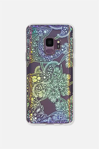 Phone Cover S9, IRRIDESCENT LACE