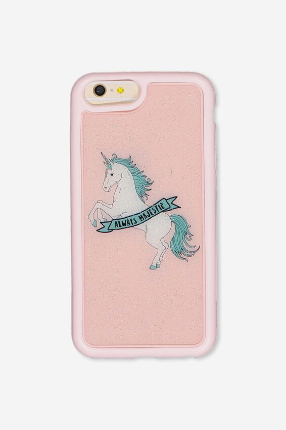The Superior Phone Cover 6,7,8 Plus, MAJESTIC UNICORN