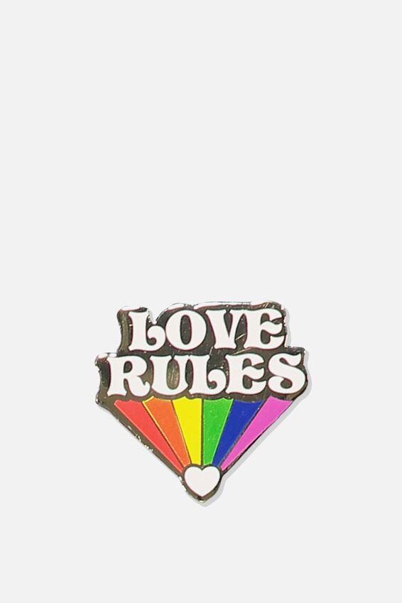 Enamel Badges, LOVE RULES 2