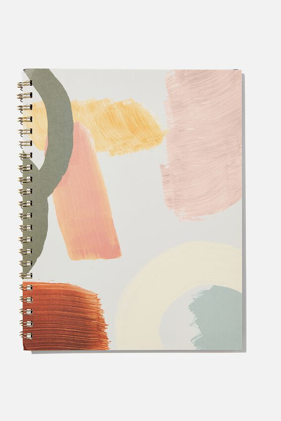 A4 Campus Notebook Recycled, PAINTLY