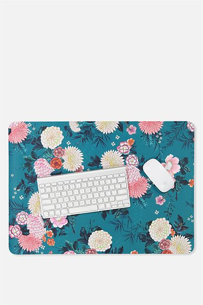 A2 Jumbo Mouse Pad, ORIENTAL FLORAL