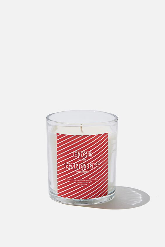 Quote Candle, NICE & NAUGHTY