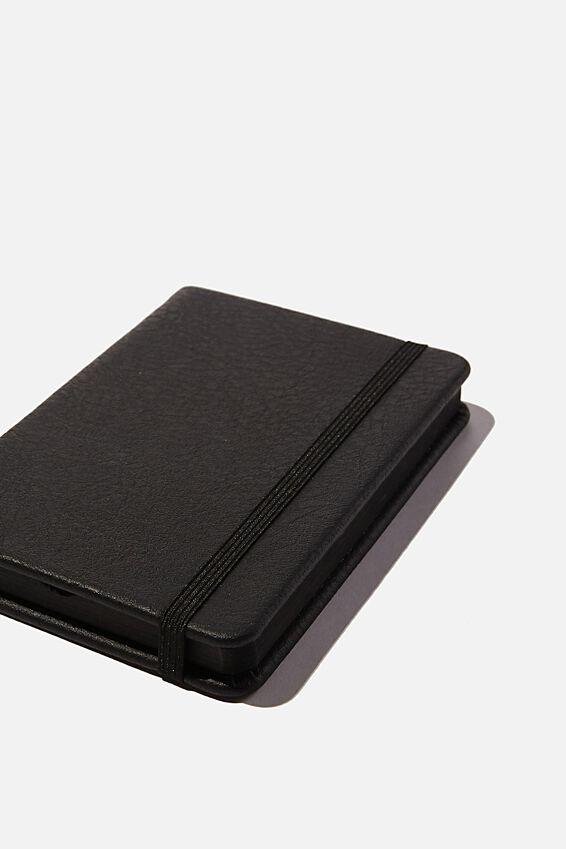 A6 Buffalo Journal, JET BLACK
