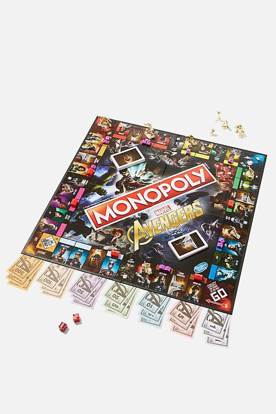 Monopoly: Marvel Avengers edition board game, LCN DIS AVENGERS NEW