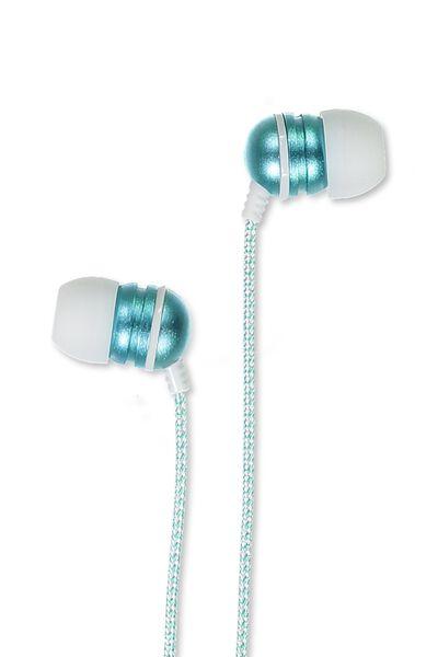 Luxe Earphones, AQUA BLUE