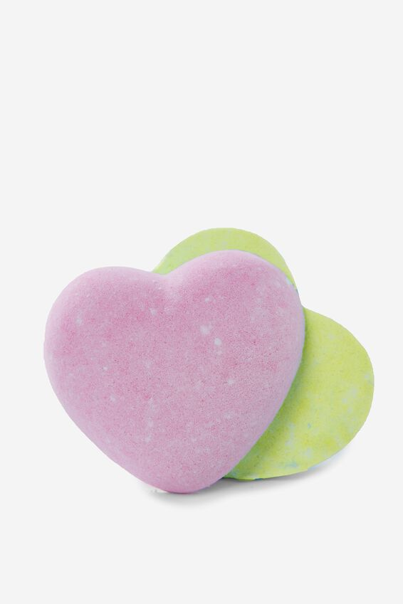 Bath Fizzer, FRUIT HEART