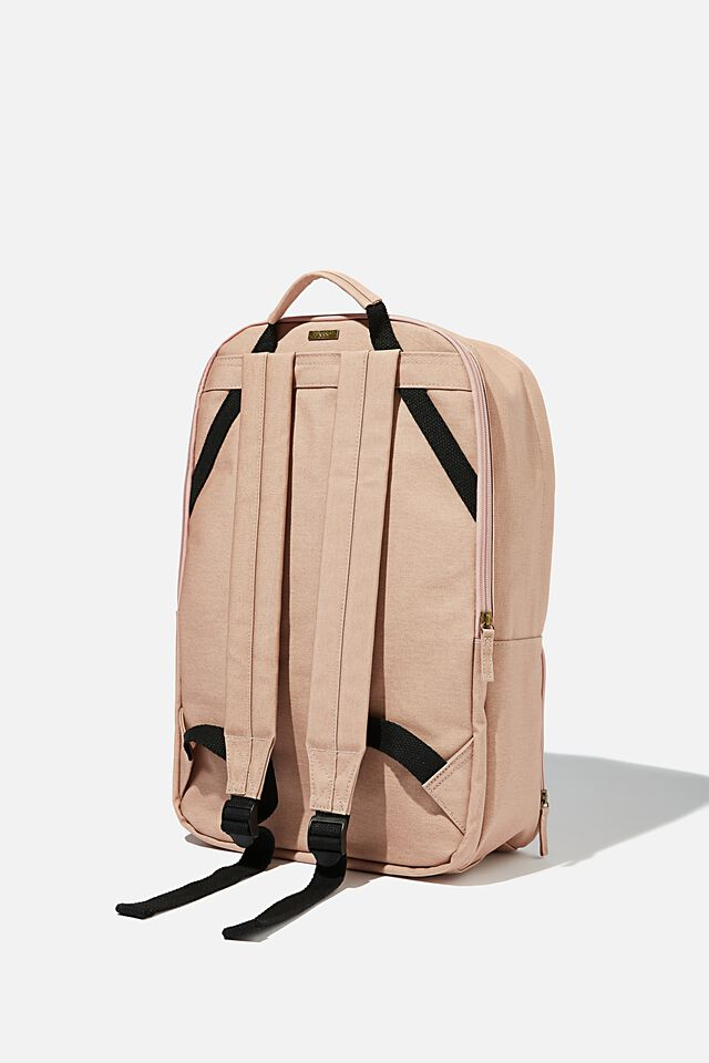 Formidable Backpack 15 Inch Coated Canvas, NUDE PINK