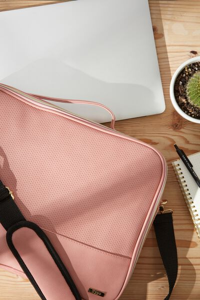 Mobile Laptop Folio 15 Inch, DUSTY PINK
