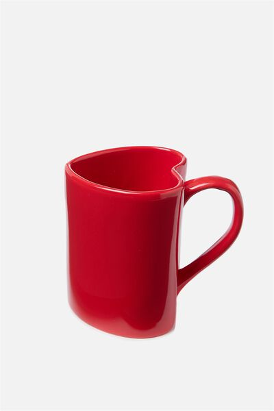 Novelty Shaped Mug, HEART
