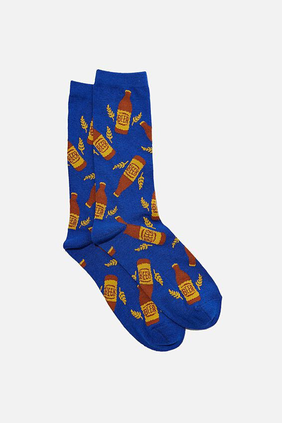 Socks, BLUE BEERS!