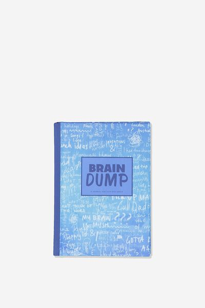 Mini Activity Journal, BRAIN DUMP