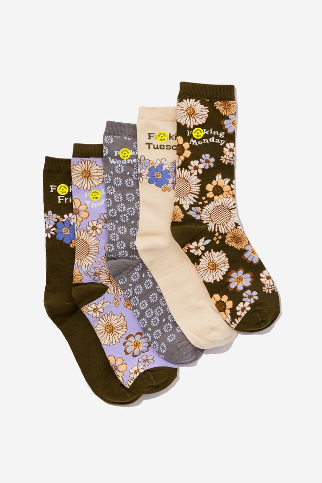 Box Of Socks, FLORAL QUOTES!!