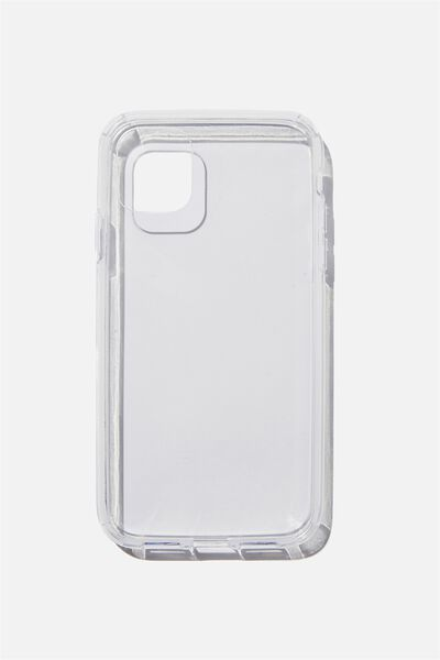 Protective Phone Case iPhone 11, CLEAR GLASS