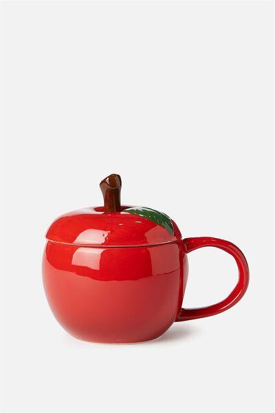Novelty Shaped Mug, APPLE