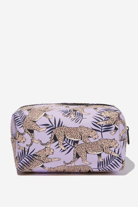 Made Up Cosmetic Bag, TIGER PRINT