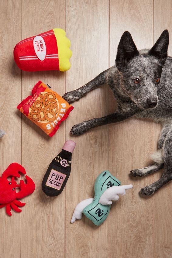 Doggo Plush Pet Toy, DOG-BILLS