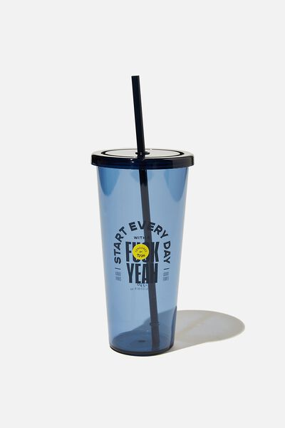 Sipper Smoothie Cup, F YEAH NAVY!!
