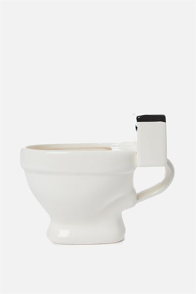 Novelty Shaped Mug, TOILET POOP!
