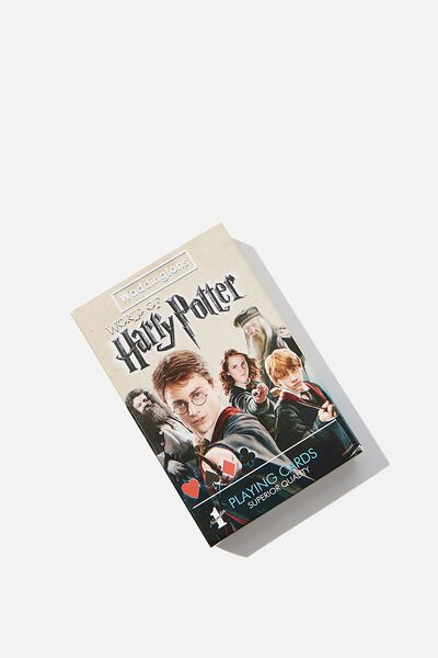 Playing Cards, LCN WB HARRY POTTER PLAYING CARDS