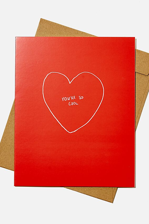 Love Card, YOU RE SO COOL HEART