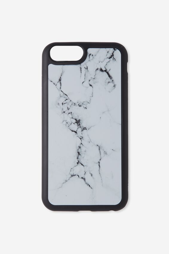 The Superior Phone Cover 6,7,8 Plus, WHITE MARBLE