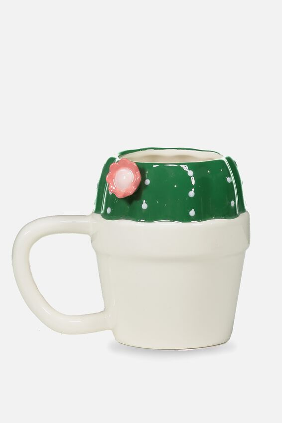 Novelty Shaped Mug, CACTI