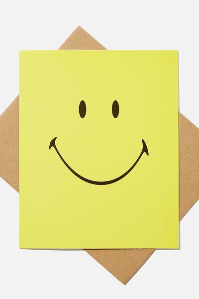 Nice Birthday Card, LCN SMI SMILEY FACE