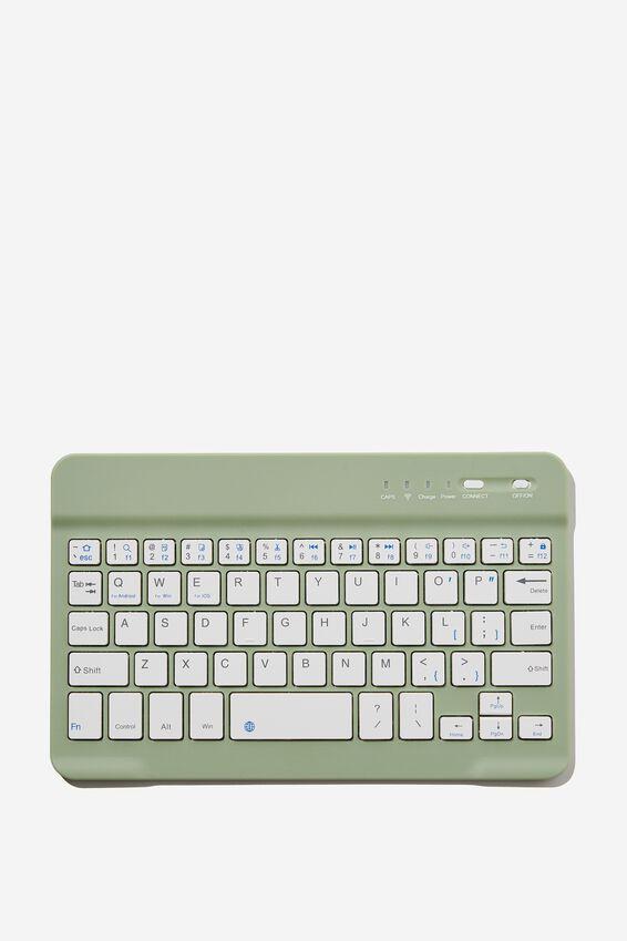 Oh Shift Wireless Keyboard, GUM LEAF