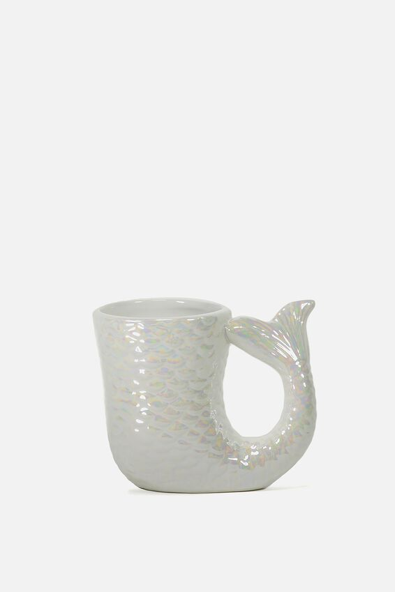 Novelty Shaped Mug, MERMAID TAIL
