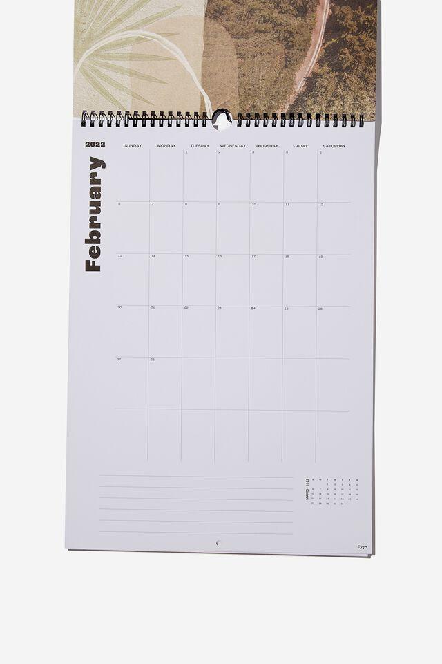 2022 Art Series Calendar, ESCAPISM