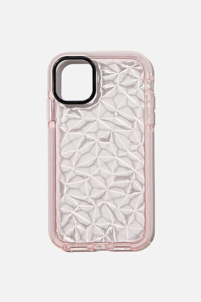 Protective Phone Case iPhone 11, CLEAR DIMOND TEXTURE