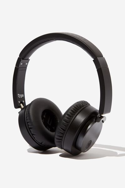 Essential Wireless Headphones, BLACK