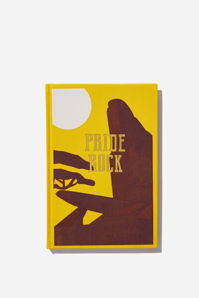 A5 Licensed Print Notebook, LCN DIS LK PRIDE ROCK