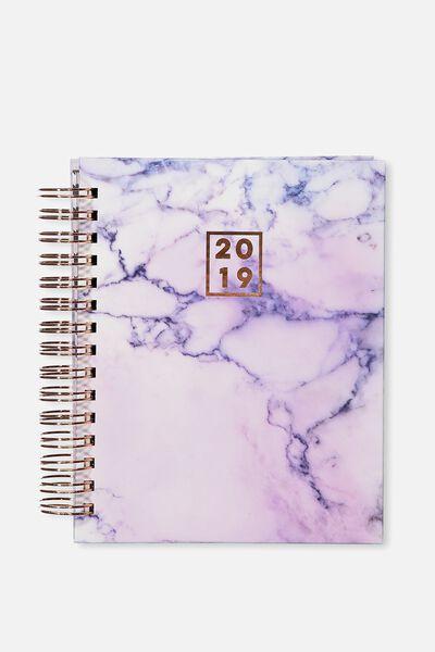2019 Binder Diary, LUSH MARBLE