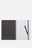 Large Spinout Notebook 11x8inch, LCN BIEBER