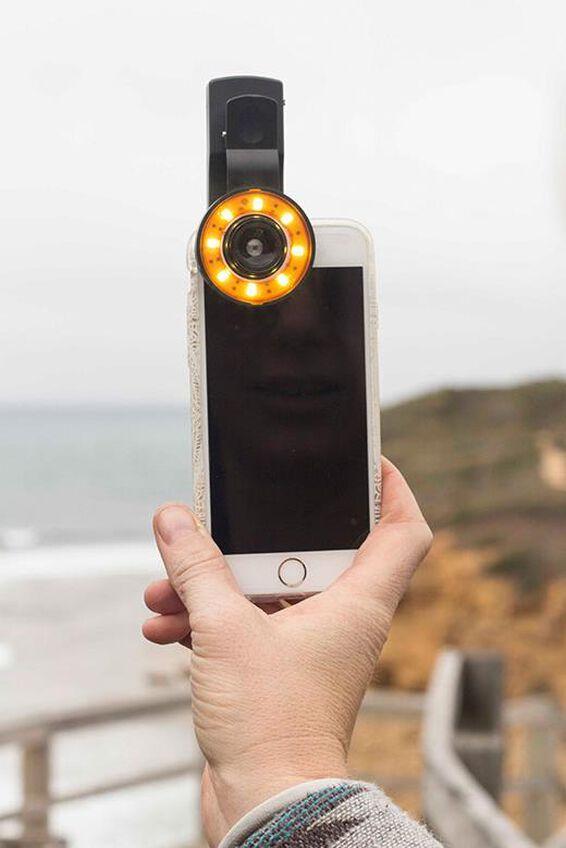 Phone Lens, ILLUMINATOR LENS