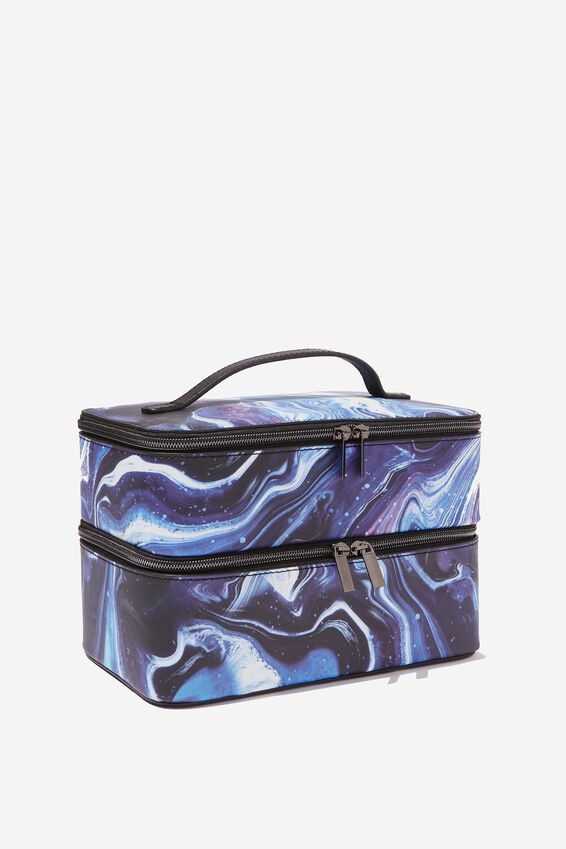 St Tropez Beauty Case, MOON MARBLE