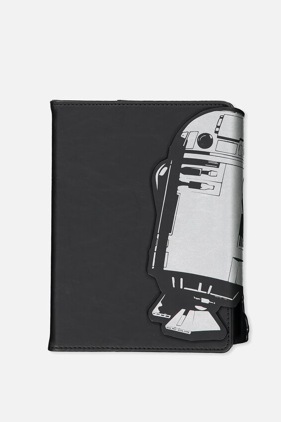 A5 Shaped Notebook, LCN R2D2 SILVER